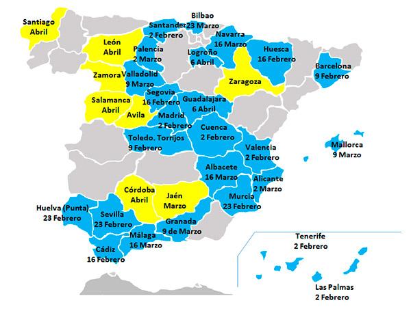 San Sebastian España Mapa.Garabandal Movie Five Weeks In Spain S Theaters